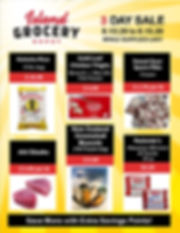 Island Grocery Depot_3 Day Sale  8.13 to