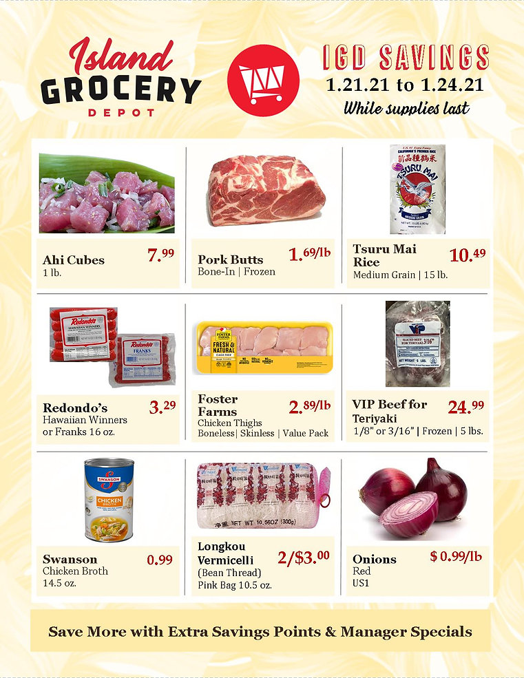 Island Grocery Depot_Ad_1.21 to 1.24.21.