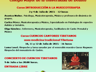 CARTEL CURSOS DE VERANO  JULIO 2015 INSCRIPCIONES ABIERTAS ¡APÚNTATE YA!!!