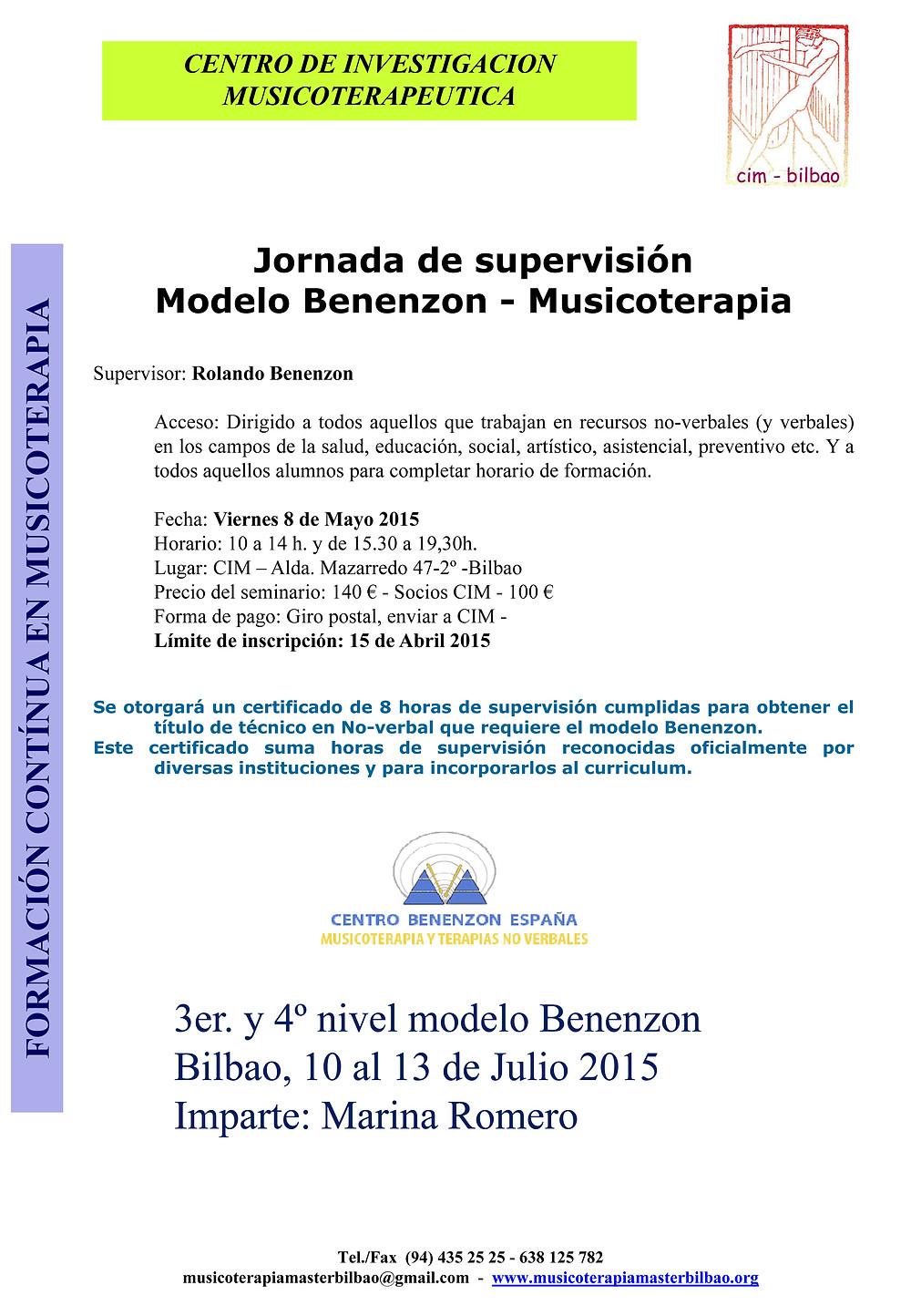 Supervision Benenzon -cim 2015.jpg