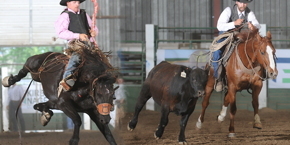 BOTH EVENTS: Ranch Rodeo & Stock Saddle Bronc