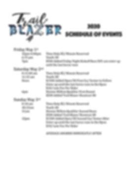 TrailBlazer Schedule of Events.JPG
