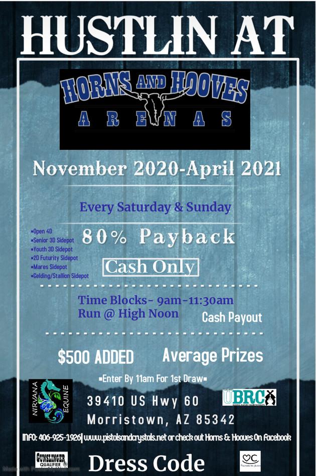 Hustlin at Horns & Hooves
