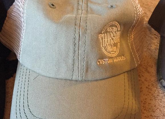Khaki Worn Look Cap