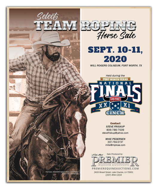 USTRC Select Team Roping Sale