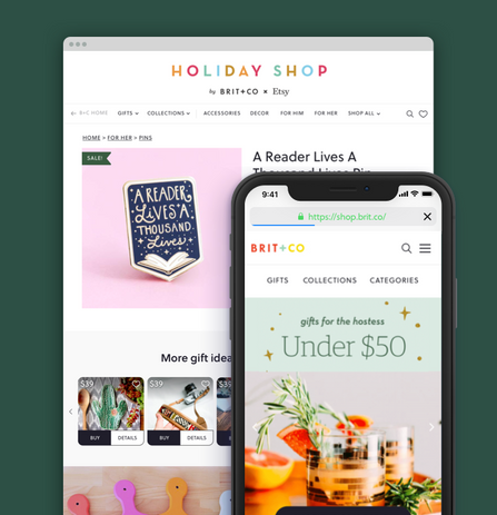 Brit+Co Holiday Shop