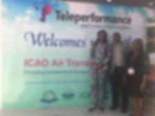 Committee Members at the ICAO meeting in Guyana