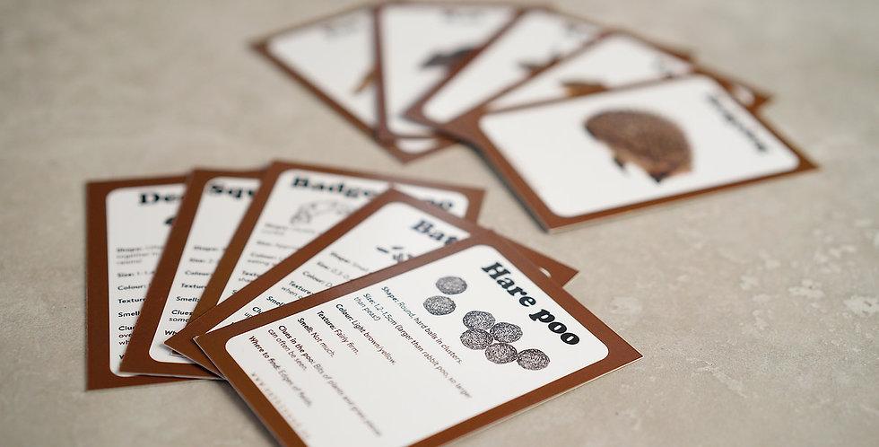 Animal Poo Cards