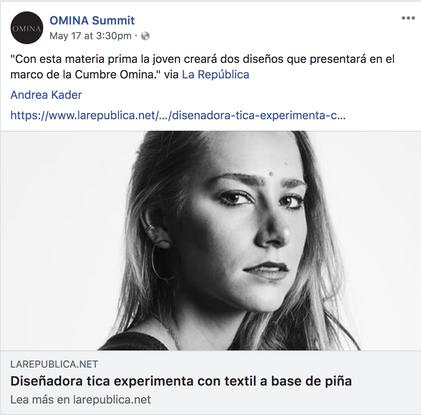 Omina Summit Facebook Post