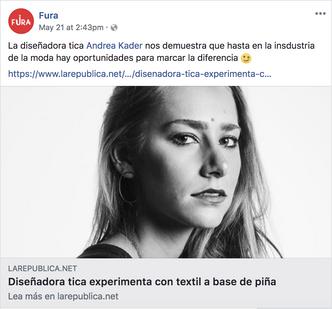 Fura Impacto Facebook Post
