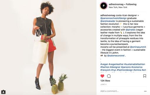 Adhesivo Magazine Instagram Post