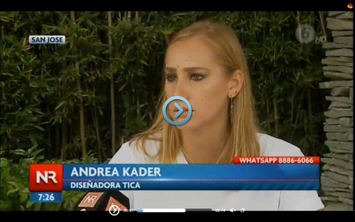 Interview with Noticias Repretel