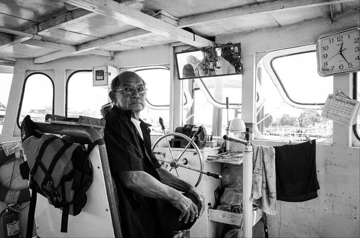 The Captain. Chao Phraya River. Bangkok, Thailand. © J. Balais 2018
