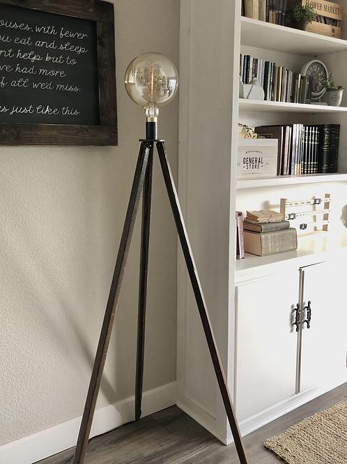 Industrial Tripod Lamp