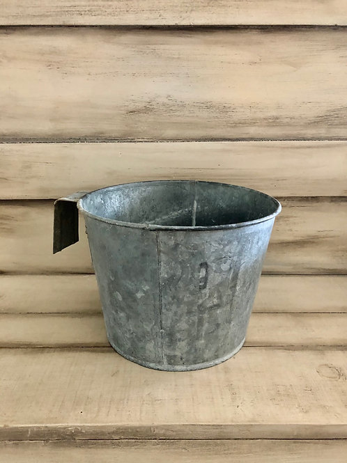 Galvanized Calf Bucket