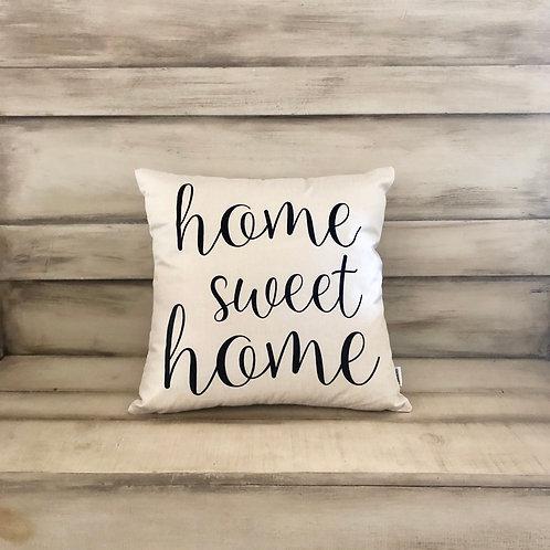 Throw Pillow - Home Sweet Home