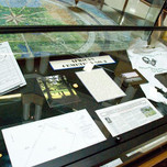 Case Six Display at the Lexington Public Library
