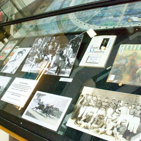 Case Four Display at the Lexington Public Library