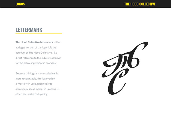 THC Style Guide
