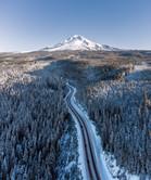 Drone Mt. Hood
