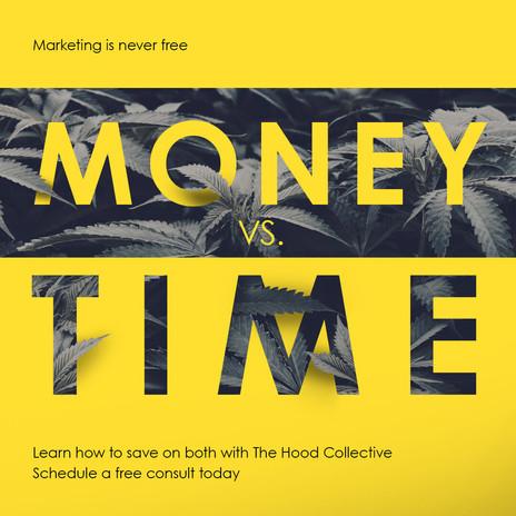 Cannabis Marketing Graphic Design