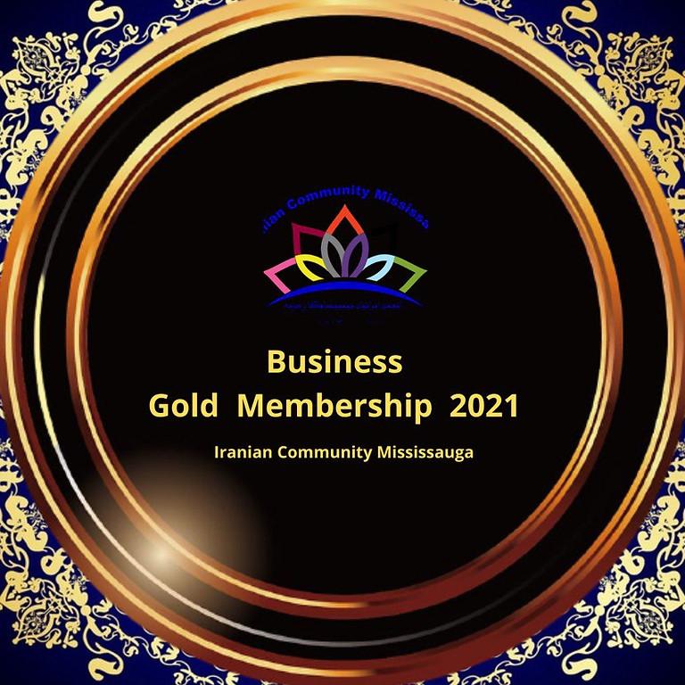 Gold Business Membership 2021