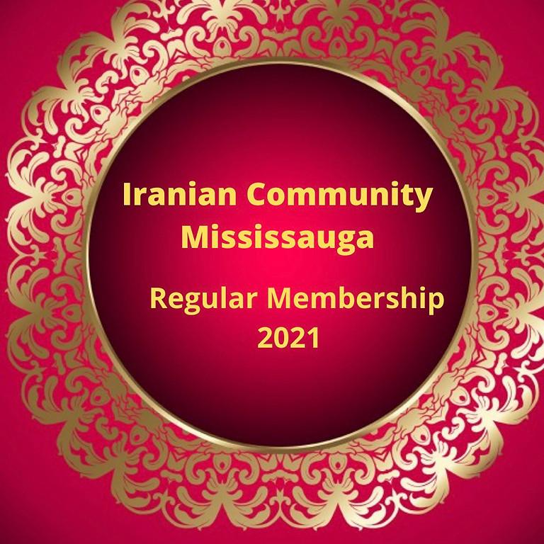 Regular Membership 2021(AGM Meeting 2021)
