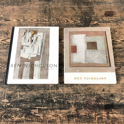 A pair of Ben Nicholson books