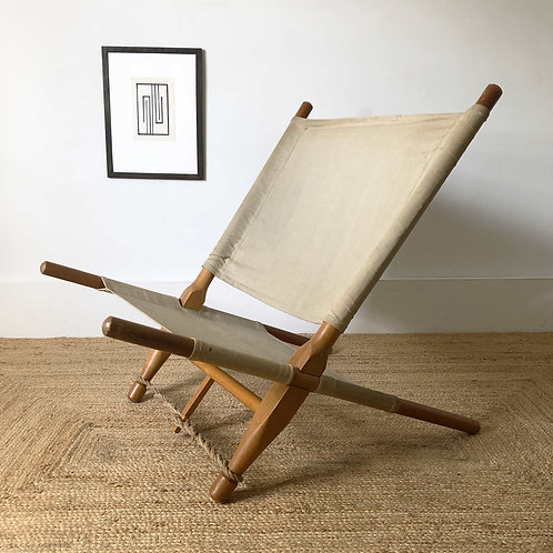 Saw Chair by Ole Gjerlov-Knudsen C1960