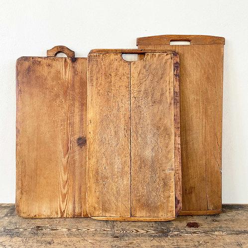 Antique Primitive Wooden Dough Board