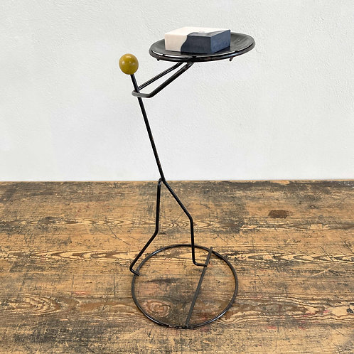 Vintage Metalwork Figurative Stand C1950-60