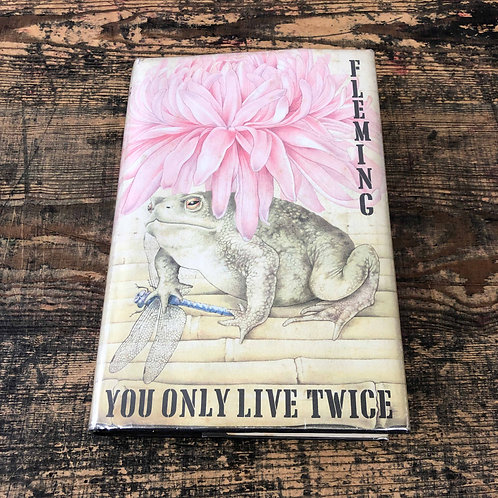 You Only Live Twice First Print, First Issue Ian Fleming James Bond 007