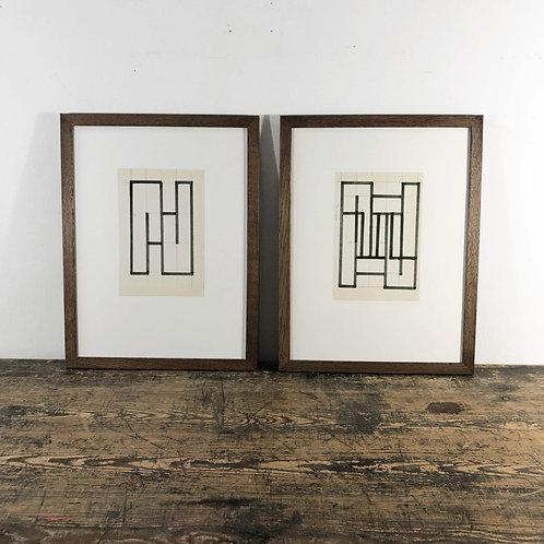 Siep Van den Berg (1913-1988) collage 1970 Price per piece