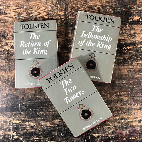 Lord of the rings trilogy. Tolkiens edition second edition 1967