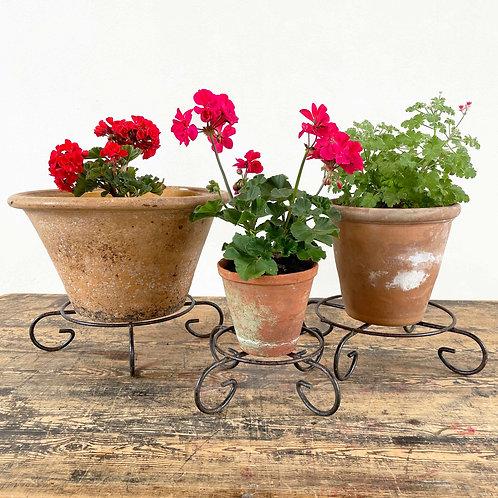 Decorative Iron Pot Holders  France  20th Century
