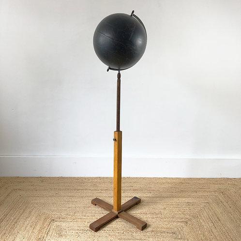 Vintage World Terrestrial Floor Standing Globe C1960