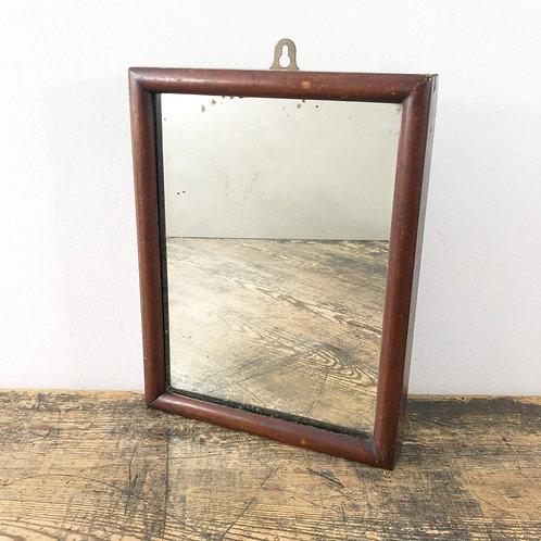 A charming 19th century shaving mirror.