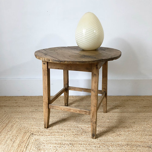 Antique pine primitive table 19th century European