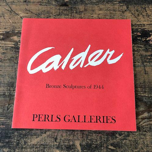 Alexander Calder: A Retrospective Exhibition 1964