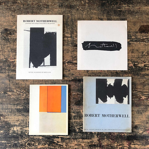 A collection of scarce Robert Motherwell literature and catalogues