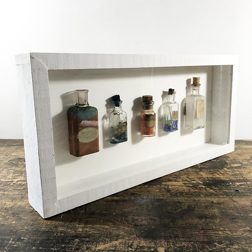 1900's Pharmaceutical bottle display
