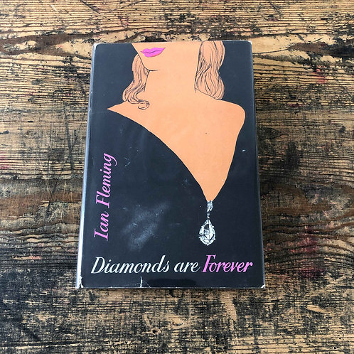 Diamonds are forever by Ian Fleming, 1964 – sixth printing, With correct unclipp