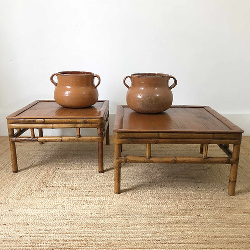 Antique Bamboo Coffee Tables C1910-20