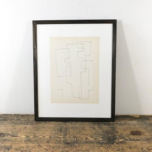 """""""Shapes VI"""" – Siep van den Berg (1913 – 1988) C1950"""