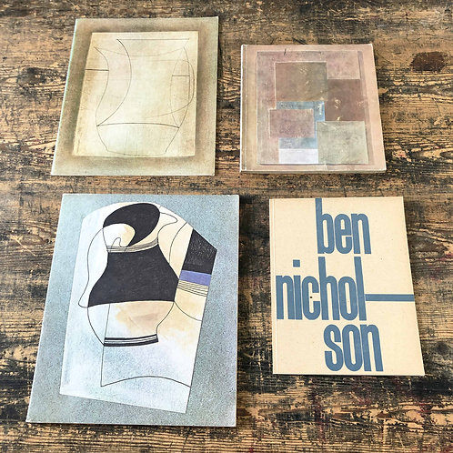 A collection of Ben Nicholson literature and catalogues