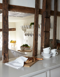 The kitchen at The Mint in Rye