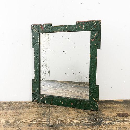 Rustic Trampwork Mirror C1880-1920
