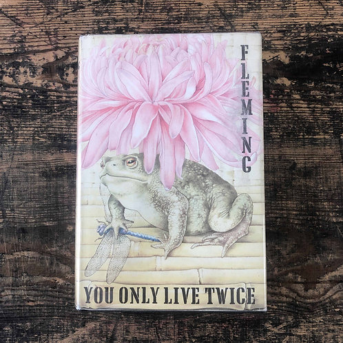 You Only Live Twice. Ian Fleming, First Edition First Print Jonathan Cap