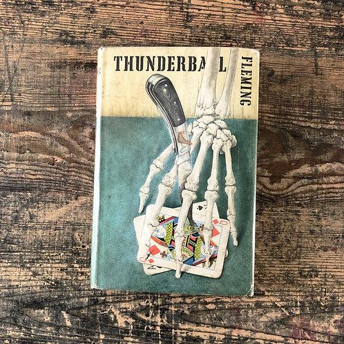Thunderball Ian Fleming, First Edition First Print Jonathan Cape. 1961