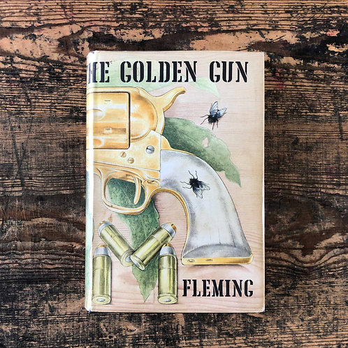 The Man with the Golden Gun by Ian Fleming, 1965 - First Edition
